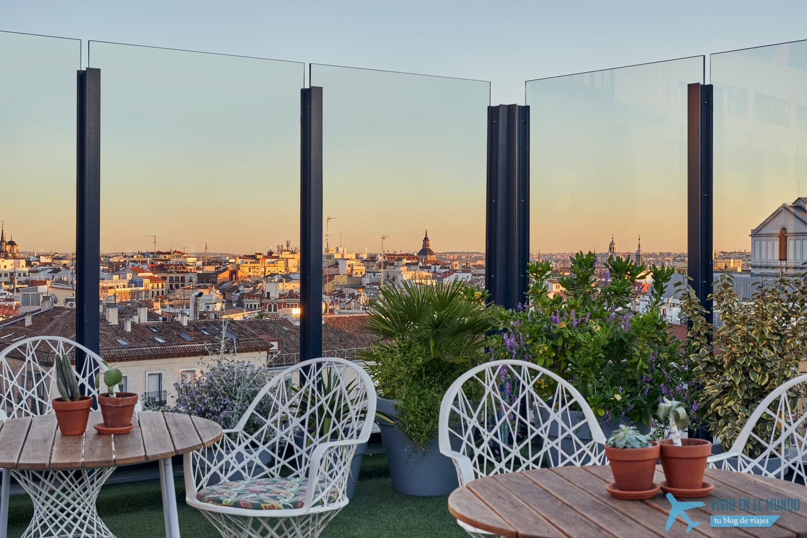 De Madrid al cielo en la terraza de verano del Generator 59