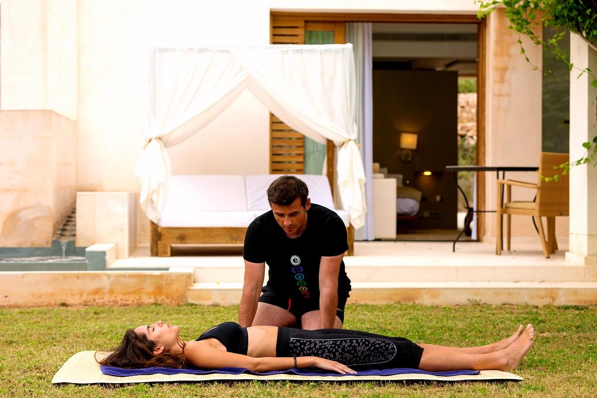 Can Lluc propone despedir el año en un retiro de yoga 1