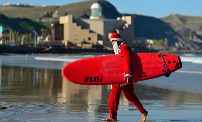 Las Palmas de Gran Canaria, la ciudad donde surfea Papá Noel 5