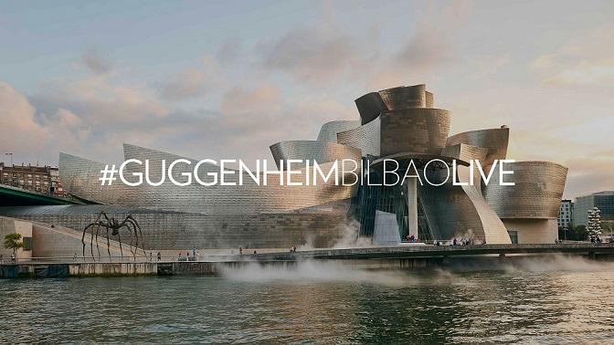 El museo Guggenheim de Bilbao abre sus puertas de manera online 3
